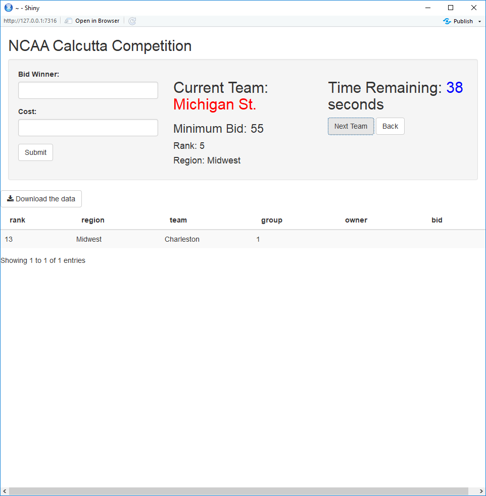 Mixing Up Your Office March Madness Competition